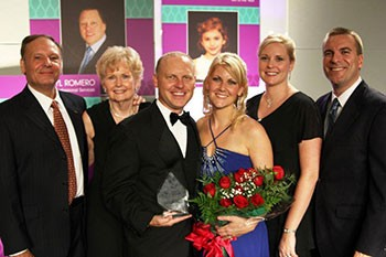 Jason Tiede, Amanda Tiede, Bob Turner, Susan Turner, Lara Kent, Jamie Kent, Woman of the Year, LLS
